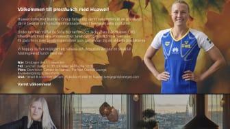Inbjudan till presslunch med Huawei