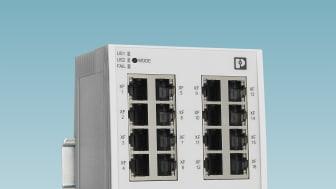 16-portars TSN Switch från Phoenix Contact