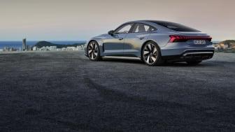Goodyear udstyrer de fuldelektriske Audi e-tron GT og RS e-tron GT med Eagle F1 Asymmetric 5-dæk
