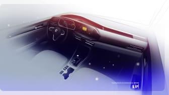 Digitaliserad och uppkopplad. Nya Caddy är en %22smartphone på hjul%22
