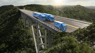 """AF Trucks fick utmärkelsen """"Irish Fleet Truck Brand of the Year 2021"""", ett initiativ från den irländska tidskriften Fleet Transport."""