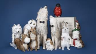 Nu går de unika objekten från NK:julens skyltfönster på auktion
