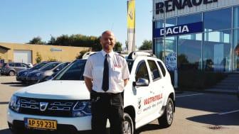 På vagt med Dacia Duster