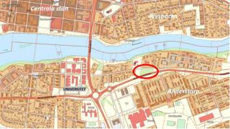 Området där de nya radhusen ska byggas ligger mellan Tubölegatan och Anderstorpsleden.