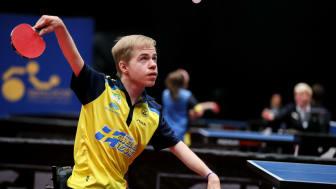 Alexander Öhgren under Para-EM i Helsingborg 2019. Foto: Parasport Sverige