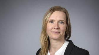 Maria Burman, doktorand vid Institutionen för samhällsmedicin och rehabilitering, Umeå universitet. Foto: Mattias Pettersson.