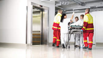KONE vald som partner för modernisering av hissar på St Görans sjukhus i Stockholm