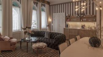 Nya rum och sviter i Bolinderska Palatset. Foto: Grand Hôtel & Andy Liffner