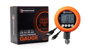 Hydroscands nya digitala manometer.