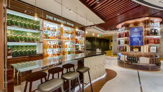 The Whiskey House at Changi Airport's T2 Wines & Spirits duplex