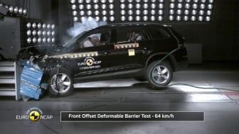 Skoda Kodiaq - Euro NCAP crash testing - May 2017