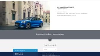 Ford Focus privatleasing fra kr. 2.295,-