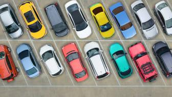 Fri parkering i centrum under två timmar
