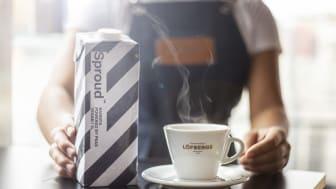 Samarbetet innebär att Löfbergs tar med sig Sprouds produkter till sina hotell-, restaurang- och kafékunder.