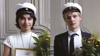Irma Flores Bertilsson och Edvin Fasth (foto: Mats Eriksson)