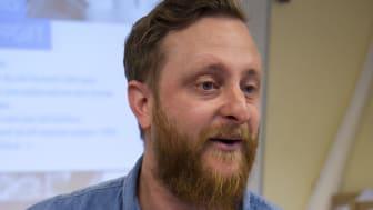 Christian Gerecht, högstadielärare i Bålbroskolan i Rimbo, Norrtälje