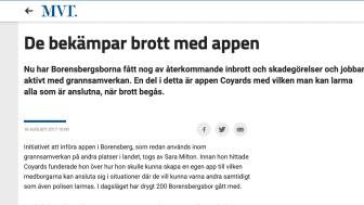 Borensbergsborna har fått nog av inbrott - börjar med CoYards