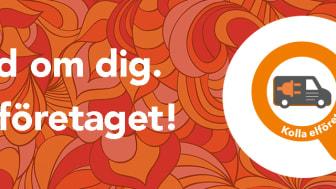 Bild från digital kampanj med texten: Var rädd om dig. Kolla elföretaget!