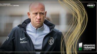 Landskronas Billy Magnusson är Månadens tränare