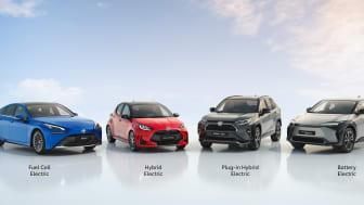 Toyota annonserer årsresultater og bekrefter mål om karbonnøytralitet