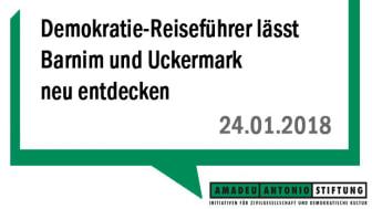 Demokratie-Reiseführer lässt Barnim und Uckermark neu entdecken