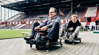 Ewald Lienen geht in Führung im Finale - Nico Rosberg auf der Jagd