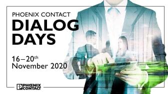 Dialogdagarna för Phoenix-kontakt äger rum för andra gången i år. Från 16 till 20 november 2020