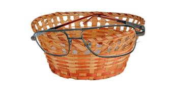 Korgglasögon? Behöver korgar glasögon?