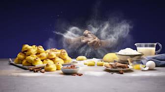 Lussekatter med saffranpaste