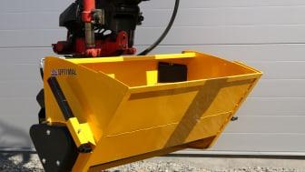 Fäste för grävmaskin på valsspridare 3