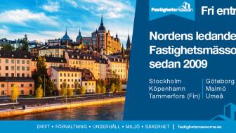 Fastighetsmässan - Nordens ledande fastighetsmässa – firar 10 år och växer!