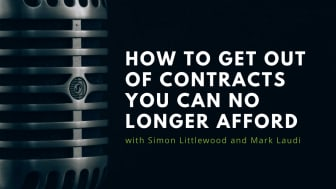 How to get out of contracts you can no longer afford