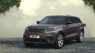 Nye designelementer, SV Bespoke-lakk og oppdatert teknologi gir flere valgmuligheter og økt velvære for Range Rover Velar-kunder