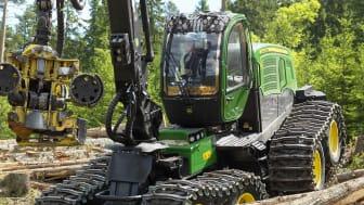John Deere: Flest hjul på MaskinExpo 2014?