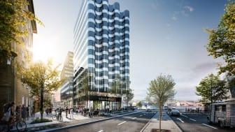 Thomas Betong, som ingår i Thomas Concrete Group har levererat 4000 kubik klimatförbättrad betong till NCC och det 51 meter höga Våghuset i centrala Göteborg.