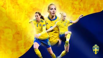 Sverige möter USA på Nationalarenan Gamla Ullevi den 8 juni.
