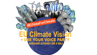 EU Climate Vision + USE YOUR VOICE 4 maj