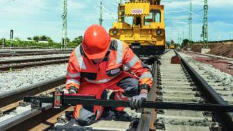 STRABAG Rail baut federführend in zwei neuen Projekten für die DB Netz AG das Fernverkehrsnetz der Bahn im Osten Deutschlands aus. copyright: STRABAG Rail GmbH