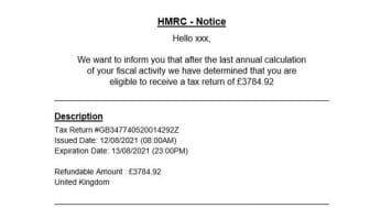 Tax Rebate scam 2.JPG