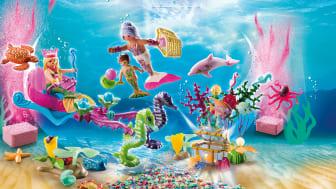 24 Türchen voller Spiel- und Badespaß: Die neuen Adventskalender von PLAYMOBIL