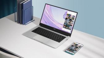 Huawei lanserar ultralätta MateBook D-serien