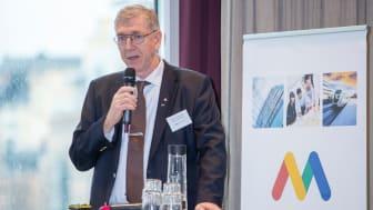 Tommy Levinsson (S), regionråd Region Västmanland och ordförande i Mälardalsrådets arbetsgrupp för Storregional kollektivtrafik. Foto: Per Groth/Mälardalsrådet