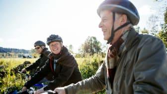 Nu finns det förslag på dagsturer för cykel i Skaraborg på skaraborg.nu. Foto: Tobias Andersson/Next Skövde