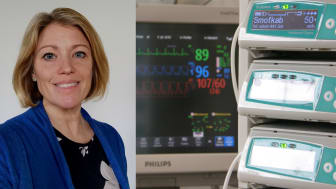 Intensivvårdssjuksköterskan Mia Hylén har i sin doktorsavhandling forskat om smärtskattning på IVA.