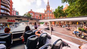 The Barcelona Bus Turístic restarts on 2nd of July