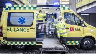 Falck stopper ambulancetjeneste i Region Nordjylland