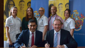Bury Council and the University of Bolton to collaborate on ambitious development plans