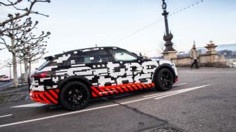 Audi e-tron prototype – en förhandsvisning av Audis kommande elbil