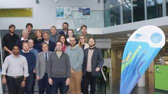 Teilnehmerinnen und Teilnehmer des Audits gemeinsam mit Betreuerinnen und Betreuern der Universität Tor Vergata und der TH Wildau. © Martin Burger