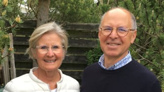 Cecilia Brunnström och Nils Bacos, grundarna av Anställ Privat.